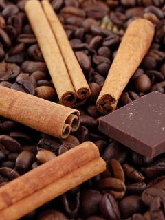 кофе, корица, шоколад, вкусоароматические добавки дело вкуса